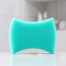 Губка банная PRIDE «Свежесть», 13×9×4 см, цвет МИКС Ош