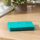 Набор губок-салфеток бытовых PRIDE «Эффект», 3 шт, цвет МИКС