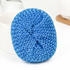 Губка бытовая плетёная «Пыжик», 5?6?10 см, цвет МИКС