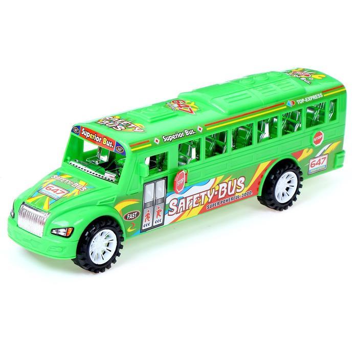 Автобус инерционный «Город» МИКС