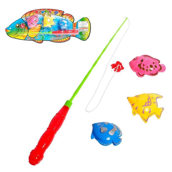 Рыбалка Рыбка, 3 рыбки, МИКС