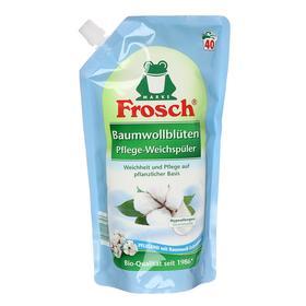 """Концентрированный ополаскиватель для белья Frosch """"Цветы хлопка"""", 1 л"""
