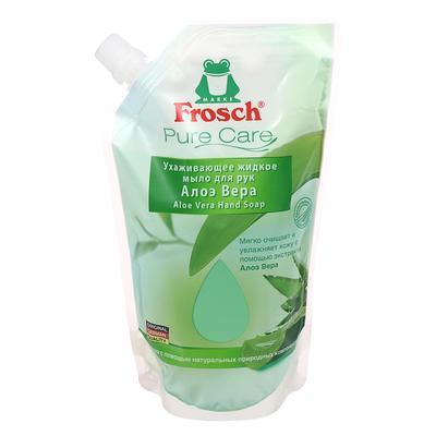 Жидкое мыло для рук Frosch «Алоэ вера», сменная упаковка, 500 мл
