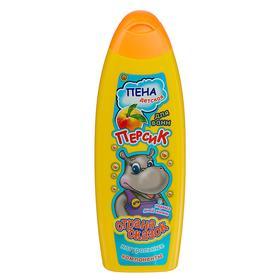 Пена для ванн детская «Страна сказок», с ароматом персика, 500 мл
