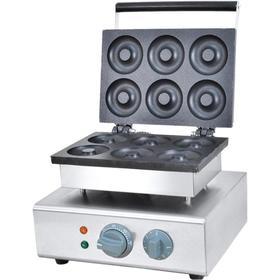Аппарат для донатсов VDM-6, 1.2 кВт, 6 шт, регулировка t°, серебристый Ош