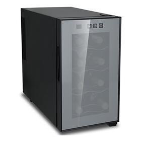 Винный шкаф VIATTO VA-JC23, 500 Вт, 4 полки, 8 бутылок, +8 до +18 °C, чёрный
