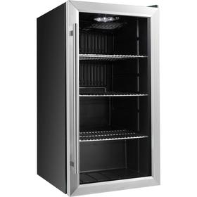 Холодильный шкаф VIATTO VA-JC88W, 85 Вт, 88 л, до + 10°C, чёрный Ош