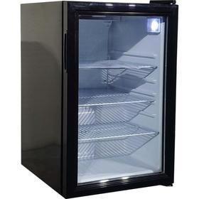 Холодильный шкаф VIATTO VA-SC68, 80 Вт, 68 л, до + 10°C, чёрный Ош