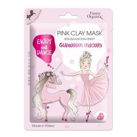 Глиняная маска-сыворотка Funny Organix Glamorous Unicorn, 20 г
