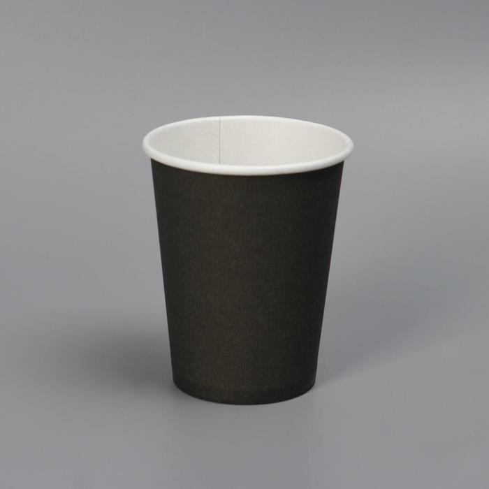 Стакан Черный, для горячих напитков 180 мл диаметр 70 мм