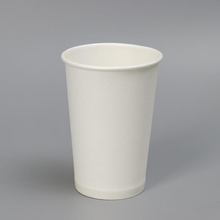 Стакан Белый, для горячих напитков 200 мл диаметр 72 мм