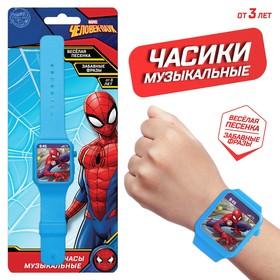 Часы музыкальные «Человек-паук», звук, Disney