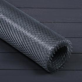 Сетка оцинкованная ЦПВС, мягкая, 1 × 10 м, ячейка 8 × 8 мм, d = 0,5 мм, металл Ош