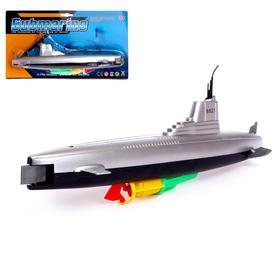 Лодка «Субмарина», плавает, работает от батареек Ош
