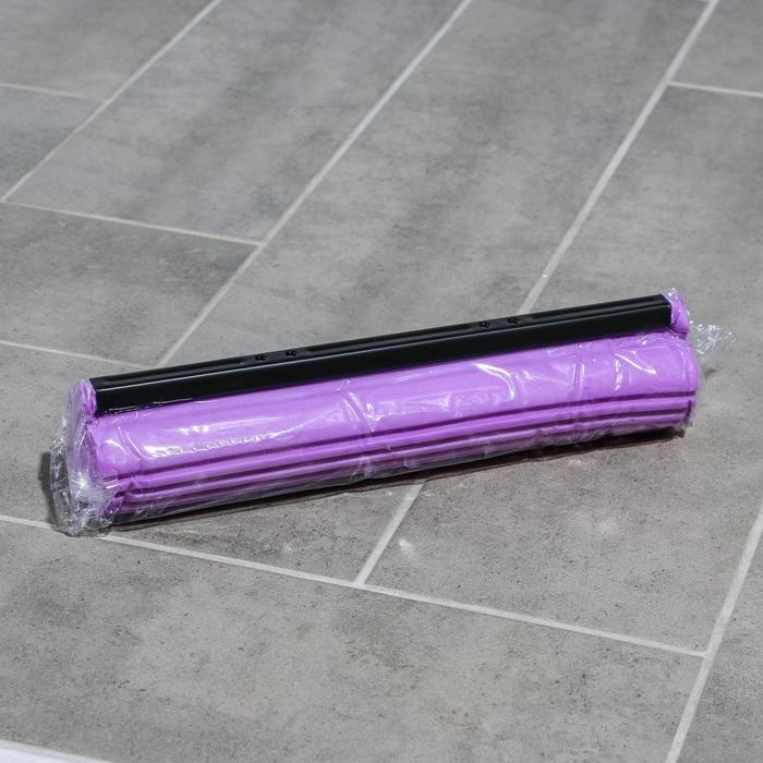 Насадка для швабры PVA с роликовым отжимом, 27?6,5?5,5 см, цвет МИКС