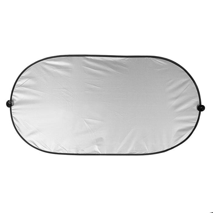 Шторка солнцезащитная, на заднее стекло, на присосках, 98х51 см