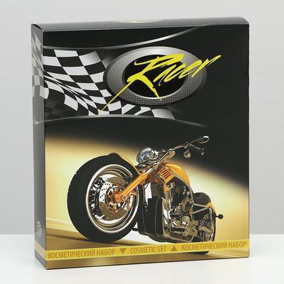 Косметический набор Racer-2 гель для душа 250 мл + лосьон после бритья 150 мл - Фото 1