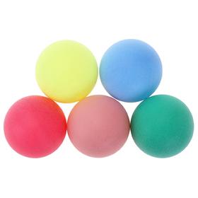 Мяч для настольного тенниса 40 мм, цвета МИКС Ош