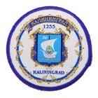 Магнит с вышивкой «Калининград. Герб»