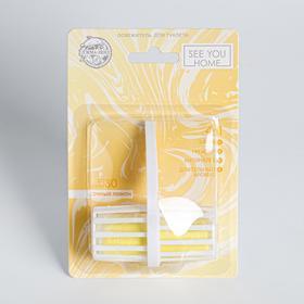Освежитель для туалета 4в1 «Сочный лимон»