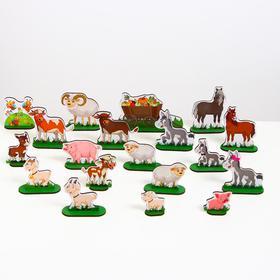 Домашние животные №1 «ZOO PARTY» 38 предметов