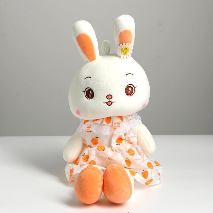 Мягкая игрушка Зайка, 50 см, цвета МИКС