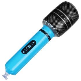 Игрушка надувная «Микрофон», 30 см, цвета МИКС Ош