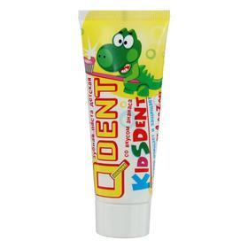Зубная паста детская Qdent Kidsdent от 4 лет, 75 мл