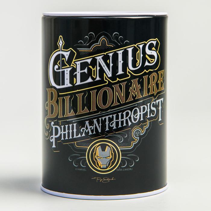 """Копилка """"Genius. Billionaire. Philanthropist"""", Мстители"""
