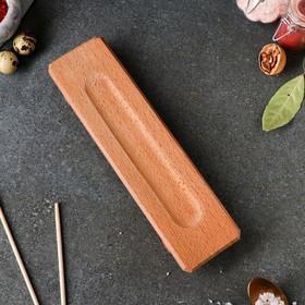 Доска для подачи суши, 30 х 8 см, массив бука
