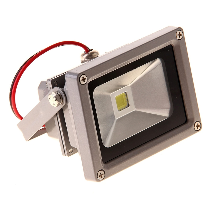 Светодиодный прожектор, 10W, IP66, белый холодный