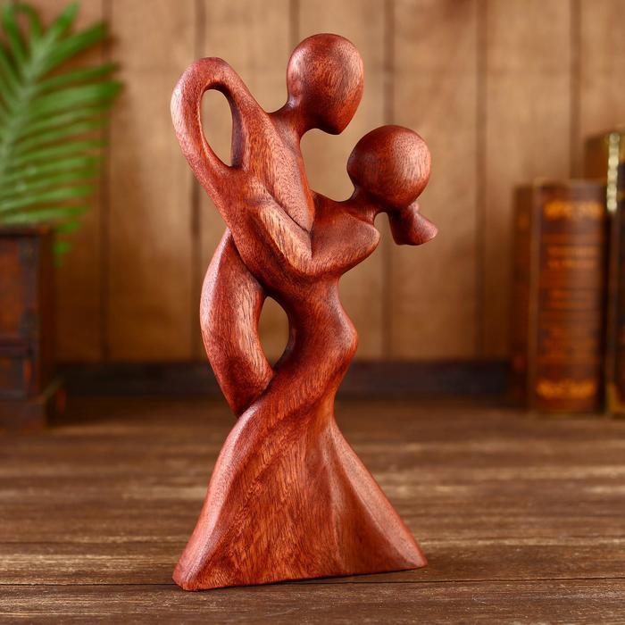 Сувенир Абстракция 30 см, дерево суар