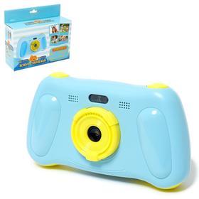 Детский фотоаппарат 'Игровой', цвет синий Ош