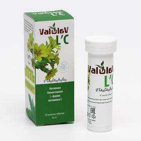Витамин C Valulav L`C, 10 шипучих таблеток по 2 г