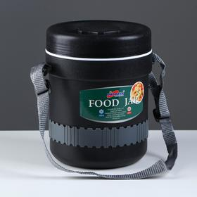 Терсмос для еды DayDays 2.1 л, сохраняет тепло 6 ч, холод 12 ч, 3 отделения, 17х22 см