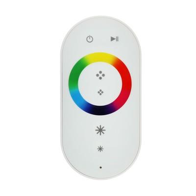 Контроллер Ecola, для RGB ленты, 12 В, 216 Вт, 18 А, белый сенсорный радиопульт