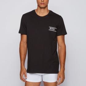 Футболка мужская Hugo Boss T-Shirt RN 24, размер L, цвет чёрный