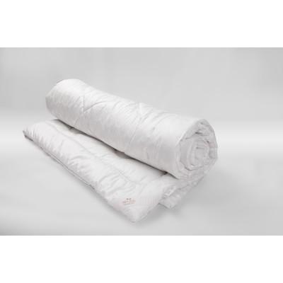 Одеяло Миродель всесезонное, искусственный лебяжий пух, 145*205 ± 5 см, микрофибра, 200 г/м2 - Фото 1