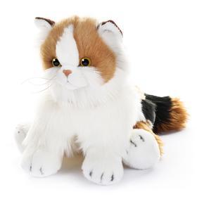 Мягкая игрушка «Кот с ярким окрасом Калико Кэт», 30 см