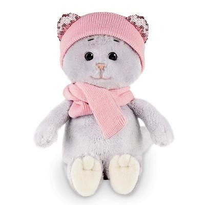 Мягкая игрушка «Мышель в шарфе и шапке», 20 см - Фото 1