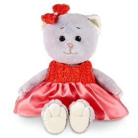 Мягкая игрушка «Мышель в красном платье», 20 см