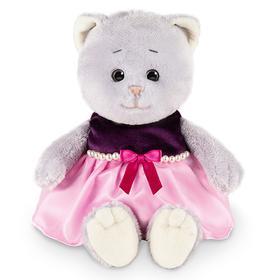 Мягкая игрушка «Мышель в фиолетовом платье», 20 см