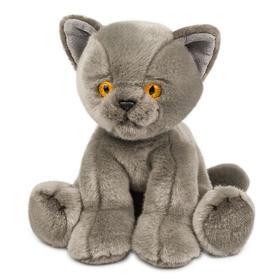 Мягкая игрушка «Котик серый», 30 см