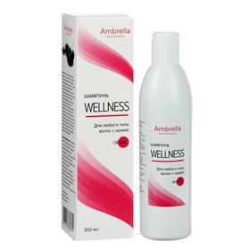 Шампунь Wellness для любого типа волос с мумиё, 300 мл