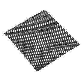 Коврик противоскольязщий 19×17 см, черный Ош
