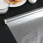 Фольга алюминиевая стандартная 29 см х 10 м Grifon, 9 мкм, в пленке