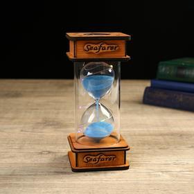 Часы песочные 'Love' c подсветкой, 3 LR41, 7.5х17 см, микс Ош