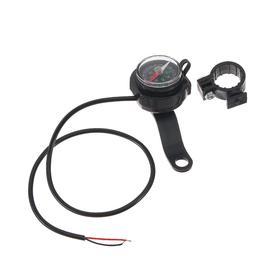 Зарядное устройство, компас для мото на руль, черный Ош