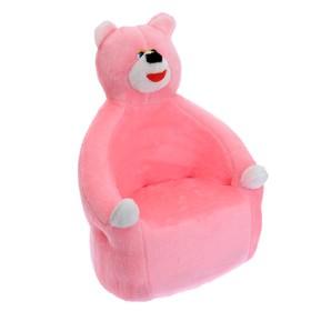 Мягкая игрушка-кресло «Медведь», цвета МИКС Ош
