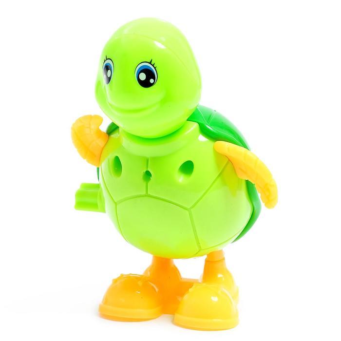 Заводная игрушка Черепашка, цвета МИКС
